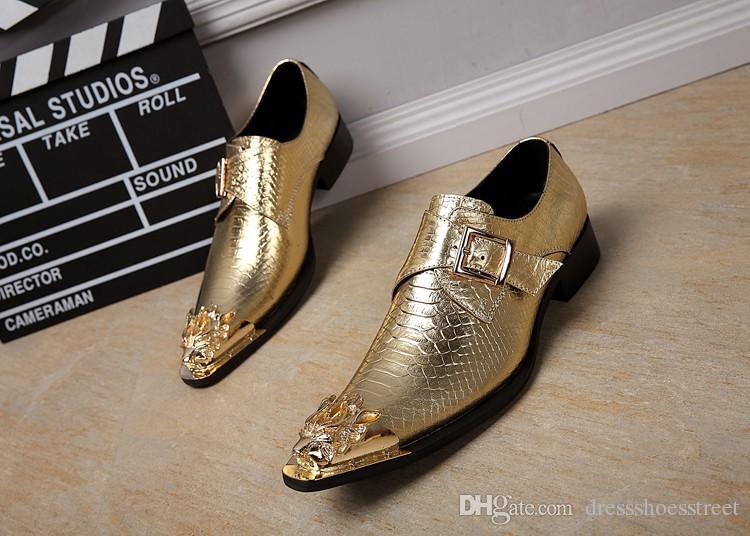 Bella Genuine Leather Men Shoes Italian