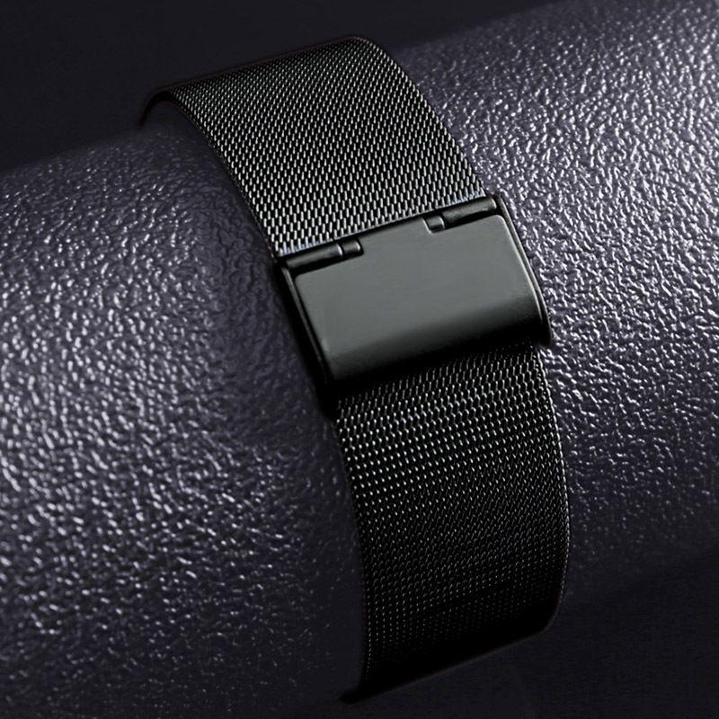 Bandas milanesas de acero inoxidable para Apple Watch 42mm 38mm Band Milanese Gold para Iwatch 1 2 Milanese Band Pulsera Cinturón