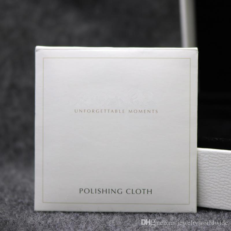 925 Sterling Silver Polishing Cloth Fashion Women Jewelry Cleaning Polish European Style For Bracelet Necklace 10X10CM