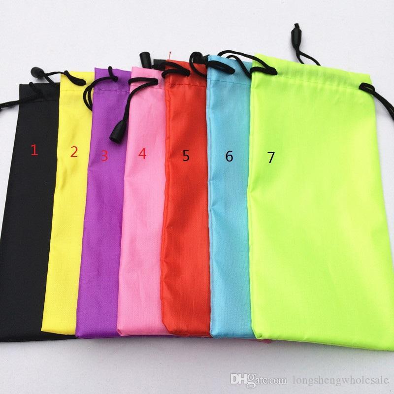 occhiali da sole impermeabili vendita calda e morbida borsa sacchetto della cassa degli occhiali sacchetto del telefono multi colore per le azione disponibili