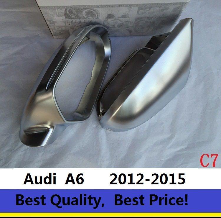 Dikiz Aynası Vaka Yan Ayna Krom Mat Kapak For Audi A6 C7 2012-2016 Tek Çifti