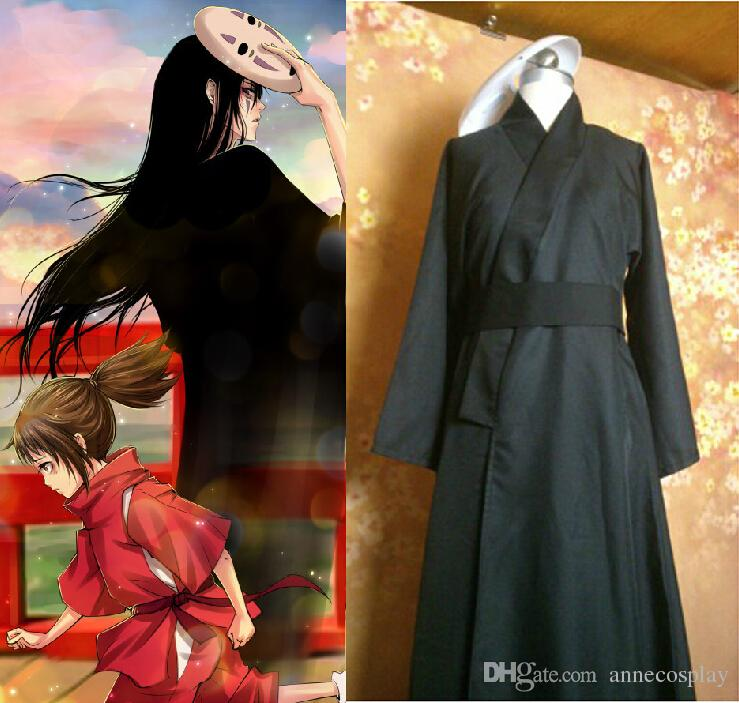 Cosplay Spirited Away No Face Personification Edition Unisex Black Kimono Costume Free Mask Tattoo Sticker Popular Cosplay Costumes Anime Cosplay Shoes From Annecosplay 48 3 Dhgate Com
