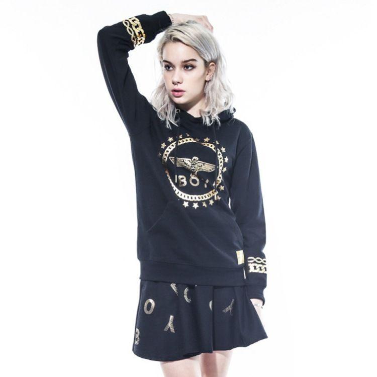 Brand Hip-Hop Boy Sweater Lovely Elder Hooded Chaqueta con capucha Loose