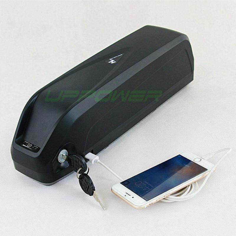 pacco batteria US UE No Shark imposte 48V 14.5Ah Li-ion Telaio Ebike della batteria con porta USB per 48V 750W 1000w Bafang E-Bike Kit