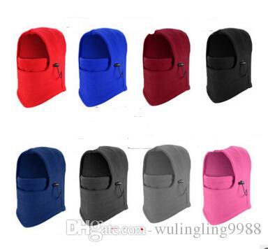 Windproof karşı terörizm kapaklar kalınlaşmış takılı giyen earmuffs Şapka Balaclava yüz maskesi eşarp kış rüzgar ve kaplan Şapka ADEDI 100 adet