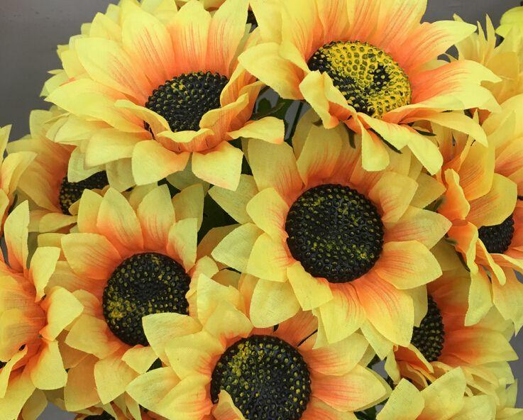 Artificielle Bouquet De Mariée Fleur De Soie Mariage Maison Décoration De Fête