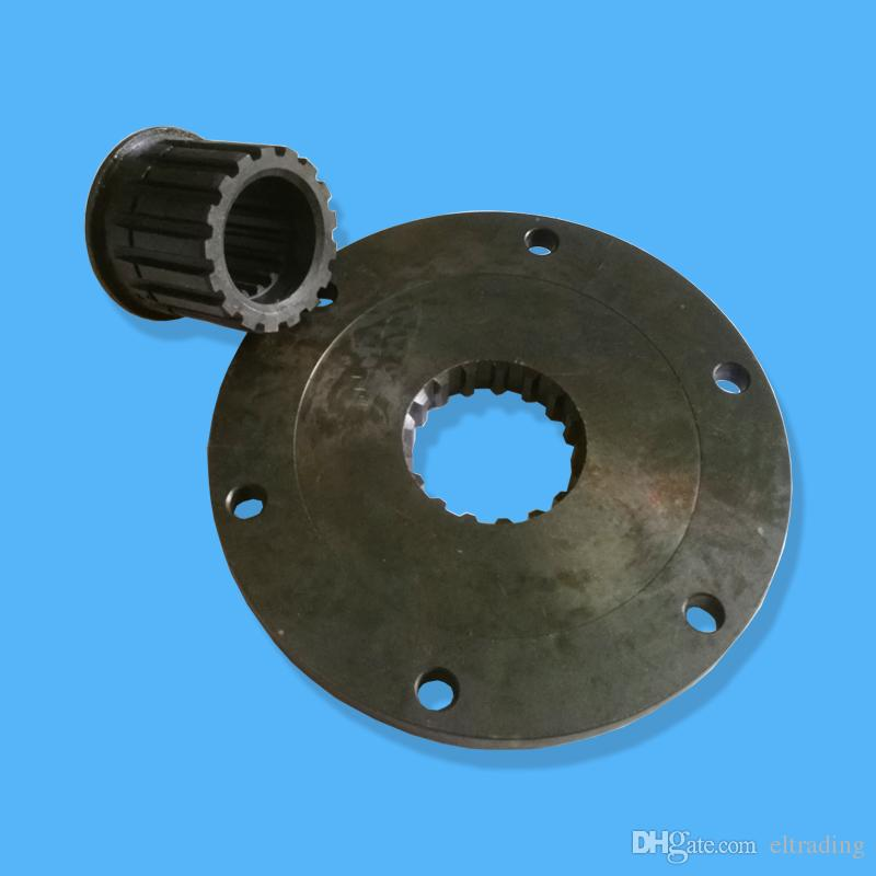 Engine Coupling 203-01-67160 with Shaft 203-01-61190 for Engine S4D102E Fit Excavator PC100-6 PC120-6 PC128UU-1 PC128US-1 PC128UU-2
