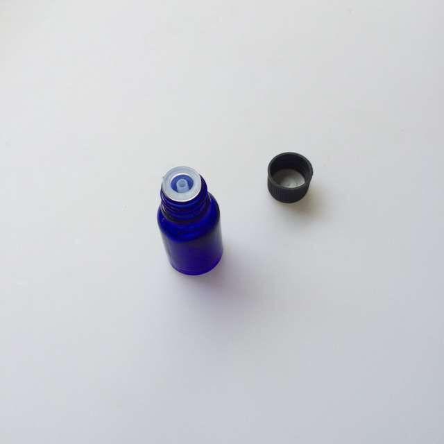 10ml Mini Blue Glass e Liquid Bottles with Cap Sealing up Packing Bottles small Jars 20pcs4