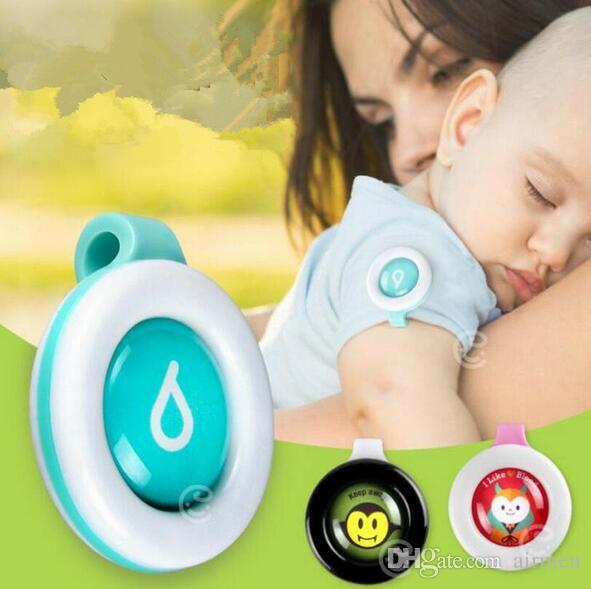 Bambino incinta pulsante anti-zanzara animale sveglio del fumetto zanzara repellente clip fibbia non tossico repellente per zanzare fibbia controllo dei parassiti DHL