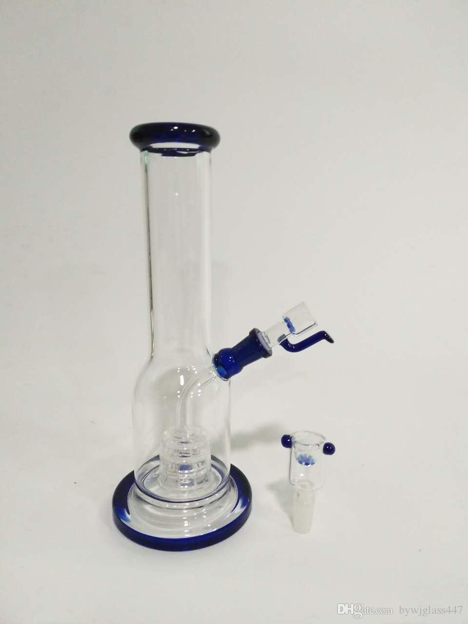 Glasrohr, 30 cm hoch, Glasrohr 5 cm Durchmesser, Fugengröße; 18 mm, Glasbongs und Glaspfeifen