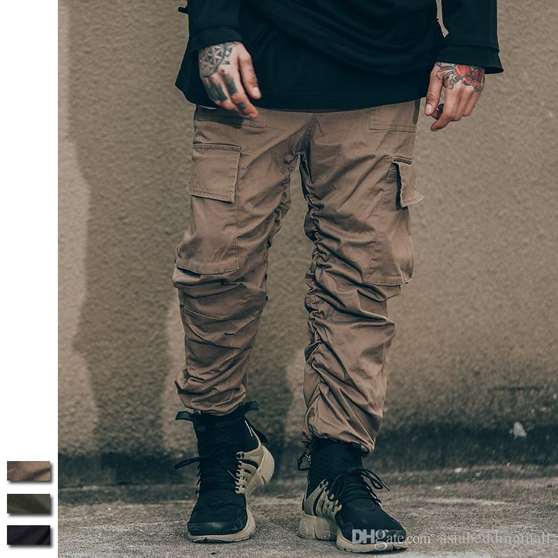 Army Cargo Harem Joggers Pants Men boost brand clothing Military Paintball Combat Tactical gym Man Pocket Elastic Trousers