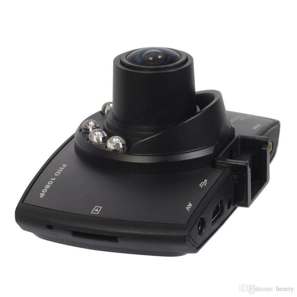 2.7 Inch HD Display Dash Cam Camera Car DVR Novatek PZ906 G30 Motion Detection One Key Lock Cycle Recording G-Sensor IR-Lights EMS