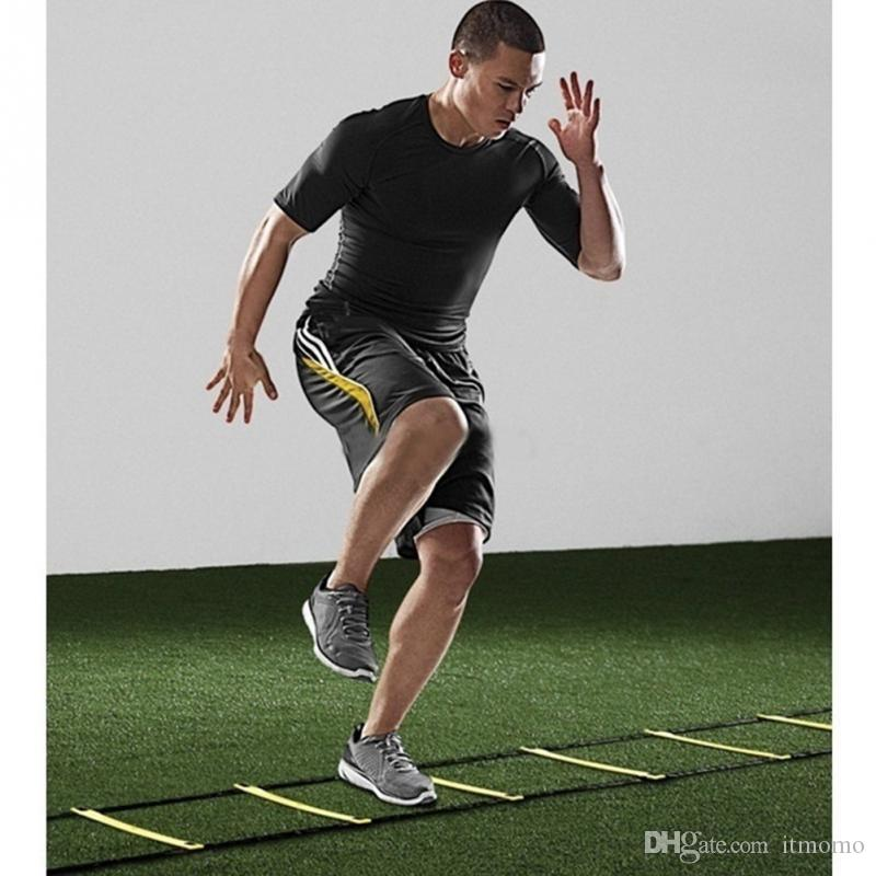 أفضل FOR SPORTS دائم سلم شقة 8 رونج 4M أجيليتي للسرعة لعبة كرة القدم للياقة البدنية قدم التدريب