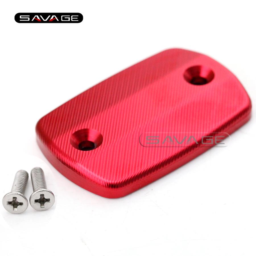 For YAMAHA YZF-R25 YZF-R3 MT-25 MT-03 2015-2016 Motorcycle Front Brake Cylinder Fluid Reservoir Cover Cap 3D texture Red