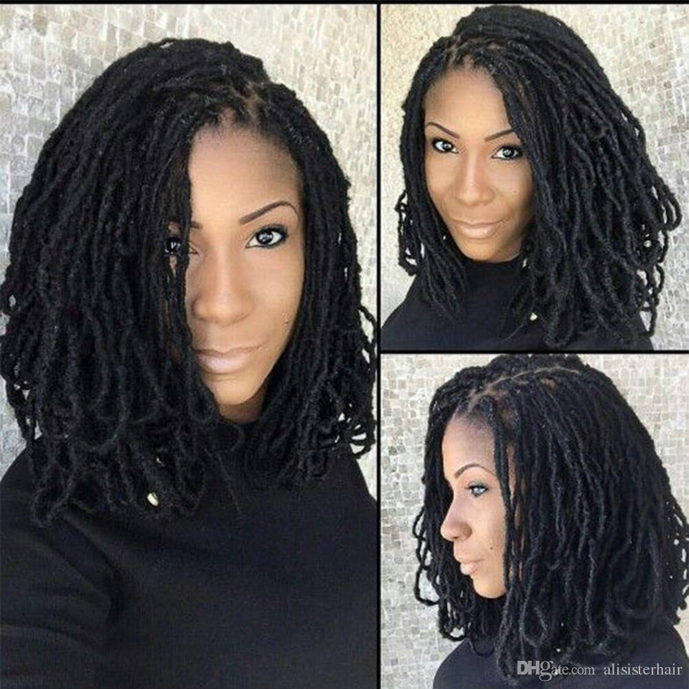 2019 6 Packs14 Inches Faux Locs Crochet Hair Synthetic Dreadlocks