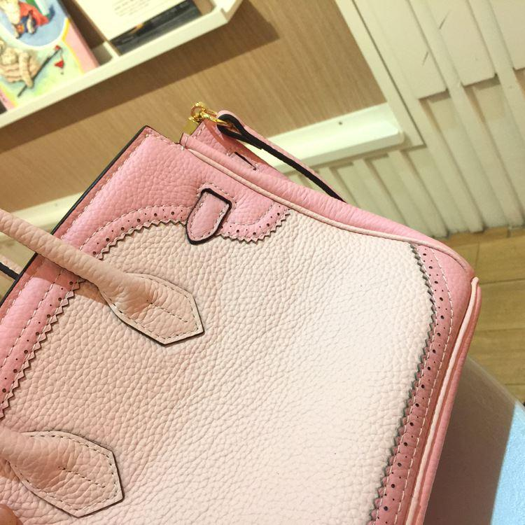 Handbag Genuine Leather Women\`s Litchi Cowhide Messenger Bag Famous Designer Shoulder Crossbody Tote 2016 Luxury Ladies Bolsa 7