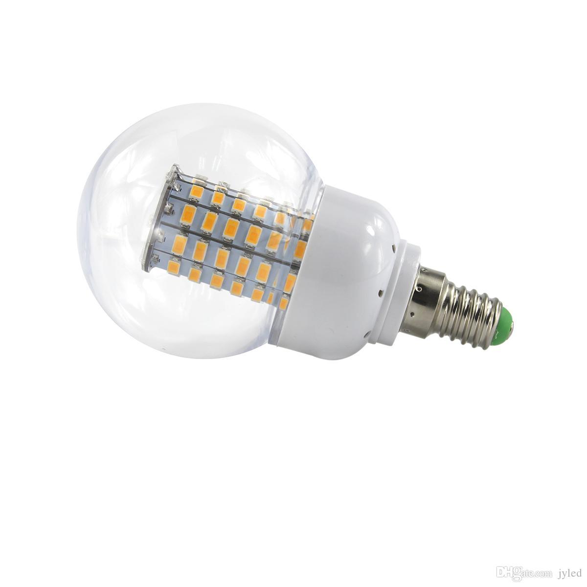 Lampadine Led E14.5x Lampadine Led E14 220v Corn Bulb Lamp Ac 12 24 Volt Led Bulbs Smd5730 69leds 86 265v 360 Degree Super Bright Light Ampolletas Color Changing Led