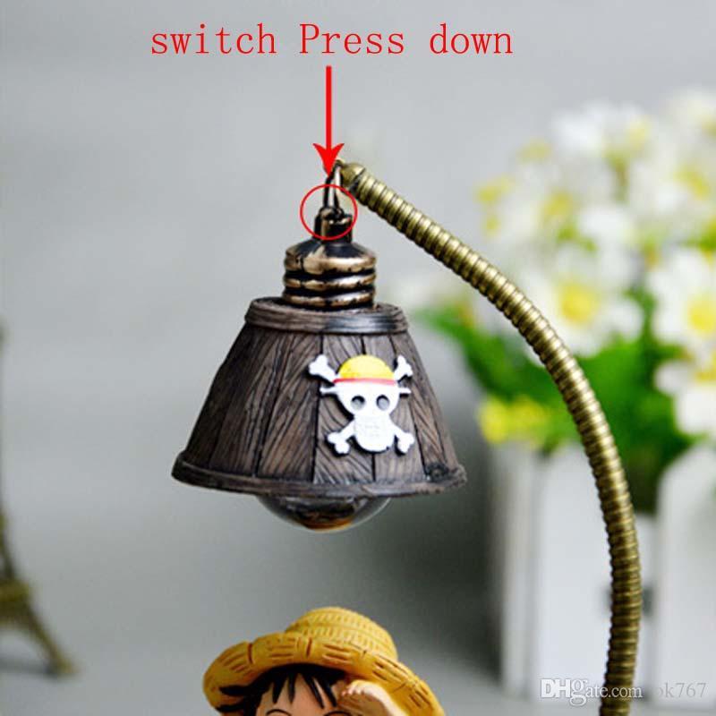 Handicraft Anime 85 Night Luffy Decoración Del Ok767 LED De Compre Lámpara Chopper Light Japonés Del Hogar A8 De Mesa Lectura Caliente Lámpara Venta mnv0wON8y