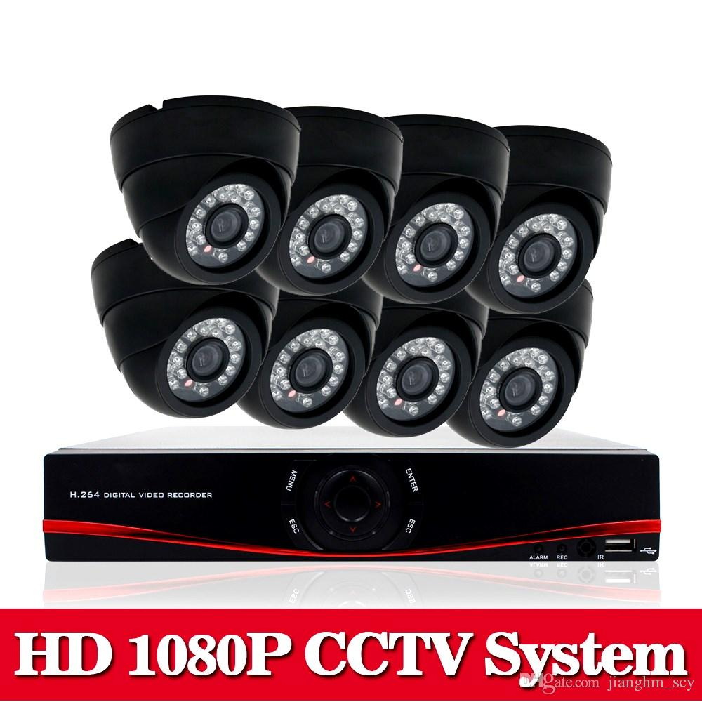 8CH AHD-NH 2.0MP HD 1080P security dome camera CCTV System Kit 16 Channel Video Surveillance 1080P DVR NVR system usb 3g wifi