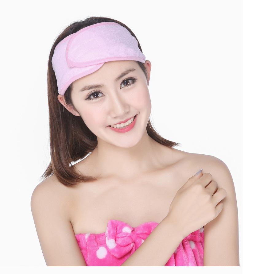 Atacado-New Spa Bath Shower Make Up Lavar Face Cosmetic Headband Hair Band