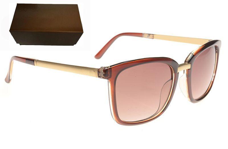 Heißer Verkauf Sonnenbrille für Frauen Designer Sonnenbrille Mens Sonnenbrille Mode Sunglases Damen Luxus Sonnenbrille Unisex Vintage Sonnenbrille