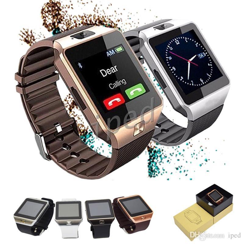 DZ09 Smart Watch GT08 U8 A1 Wrisbrand Android Smart SIM интеллектуальные часы мобильный телефон с камерой может записывать состояние сна бесплатно DHL 30 шт.