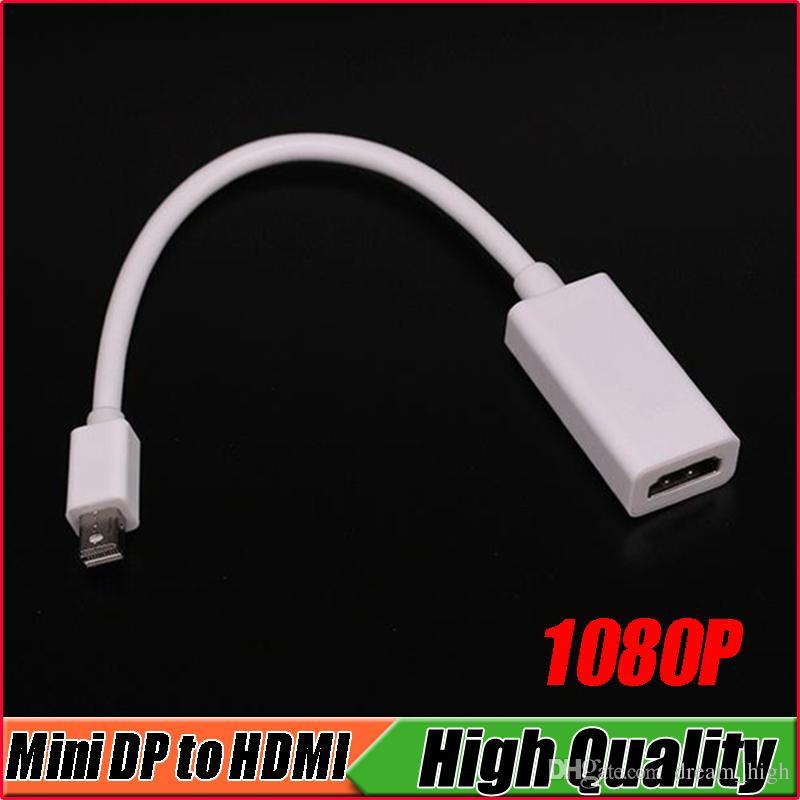 1080P MDP 미니 DisplayPort HDMI 어댑터 디스플레이 포트 미니 DP 남성 HDMI 여성 어댑터 케이블 Mac 용 Macbook Pro Air PowerBook