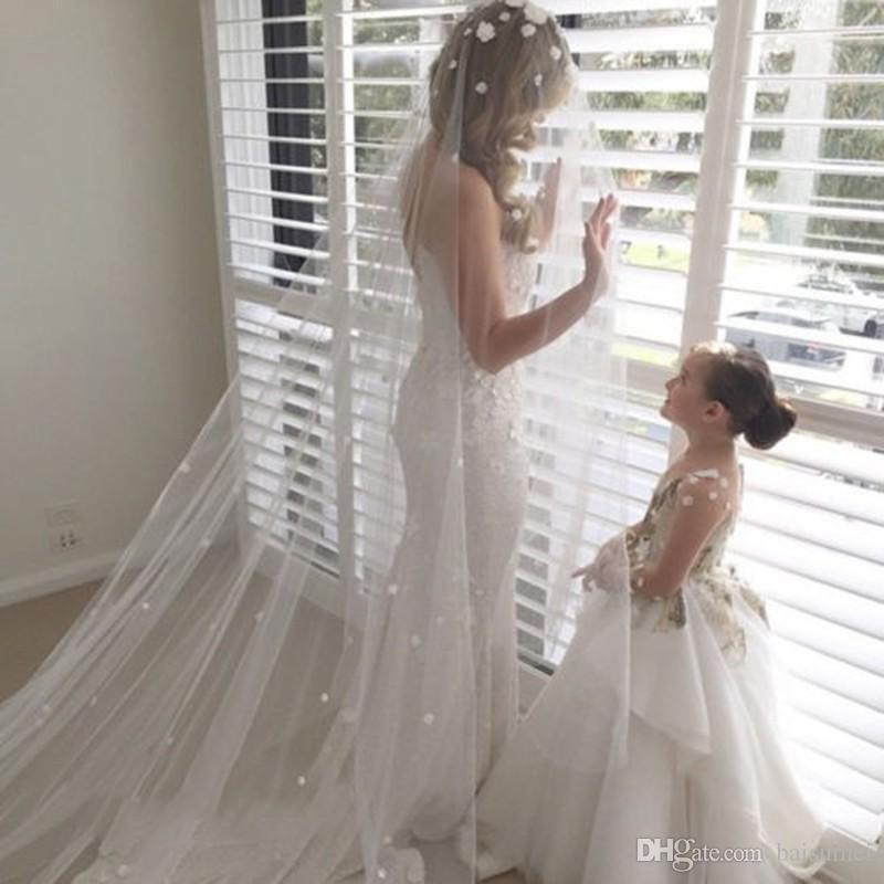 Girls White First Holy Communion Dresses Sash Beading With Bow Flower Girl Dress
