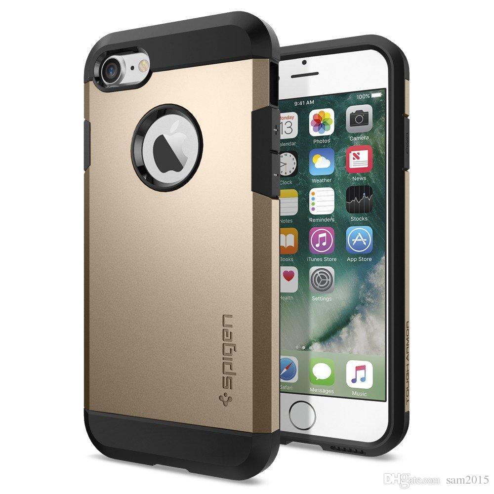 Per Samsung S8 PLUS SGP Armatura Custodia Per iphone x / xs xr max 8 7 6 6s plus 5 Samsung S8 S8plus TPU PC Dual Layer Copertura del telefono cellulare Custodia OPP