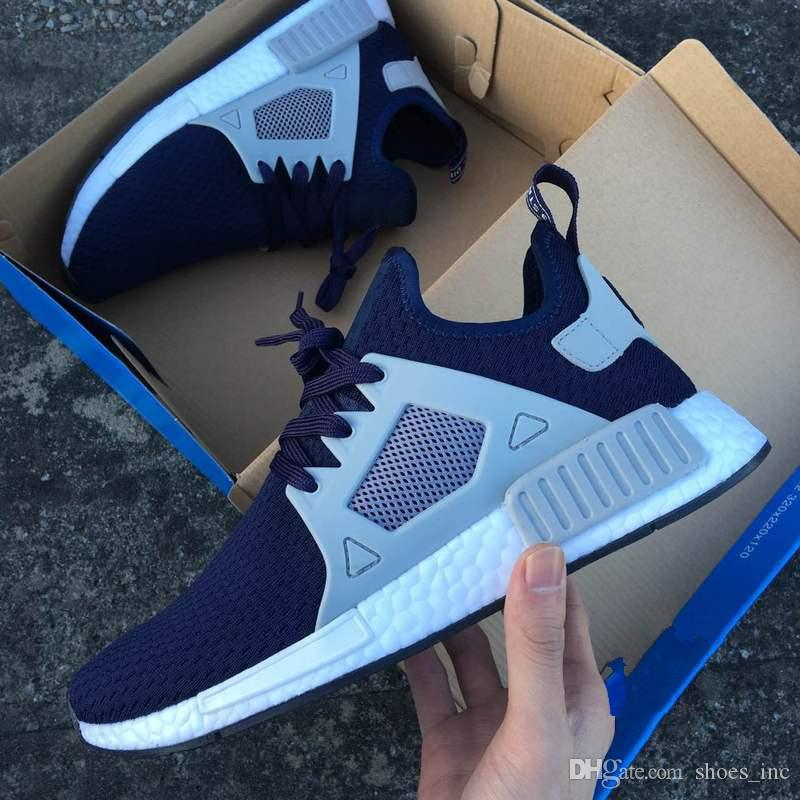 Buy Men's Adidas Originals NMD XR1 Black/White Running Shoes