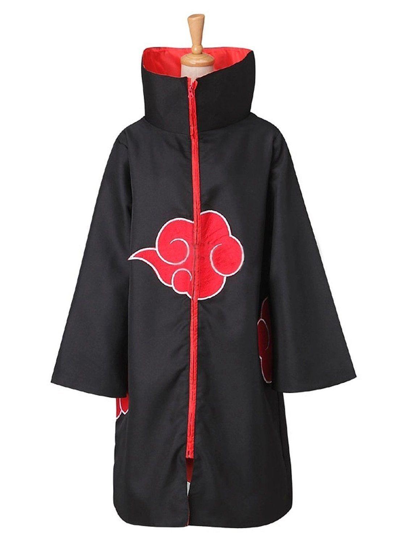Kukucos Unisex Halloween Cape Naruto Cloak Cosplay Costume Uniform Robe A Set Of Cloaks Halloween Party Robe