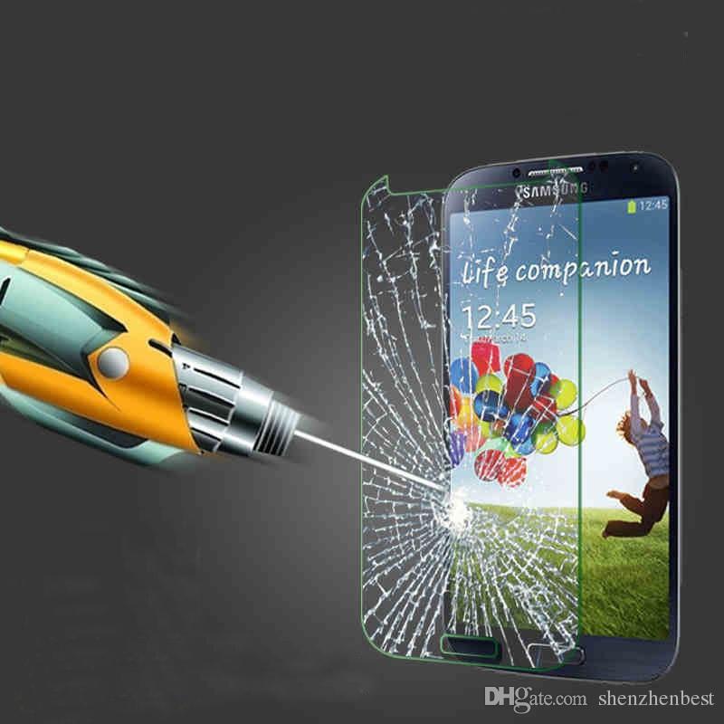 Verre Trempé Pour Samsung Galaxy A3 / A5 / A7 / A8 / A9 2016 Protecteur D'écran Transparent Haute Pour Samsung Film de protection 500pcs / lot