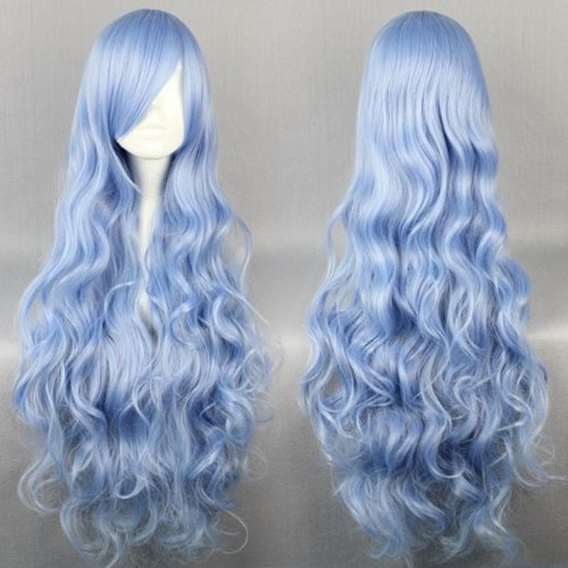 Moda MCOSER DATA A LIVE-Yoshino capelli sintetici 90CM colore dritto misto alta qualità parrucca cosplay partito lolita