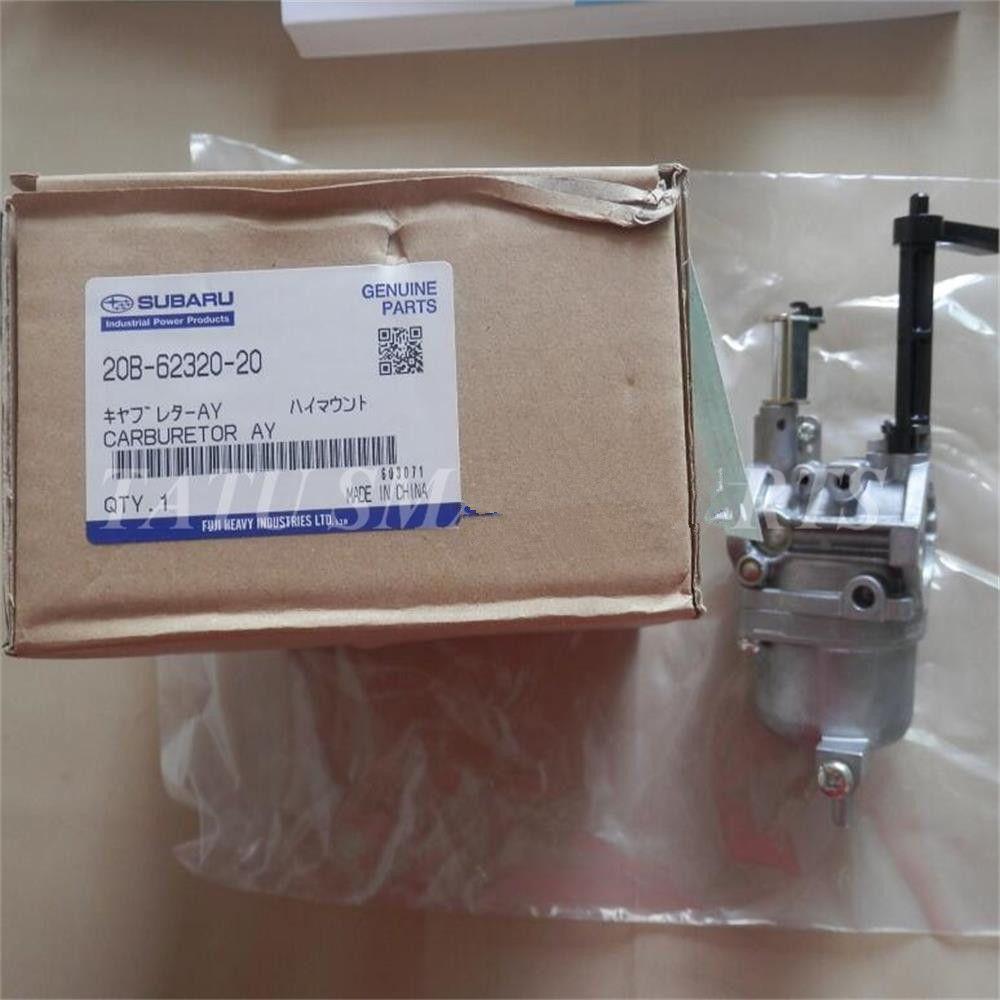 스바루 로빈 EX40 기화기 cp 발전기 펌프 carby 세탁기 산업용 공구 carb assy 부품을위한 정품 기화기 # 20B-62320-20