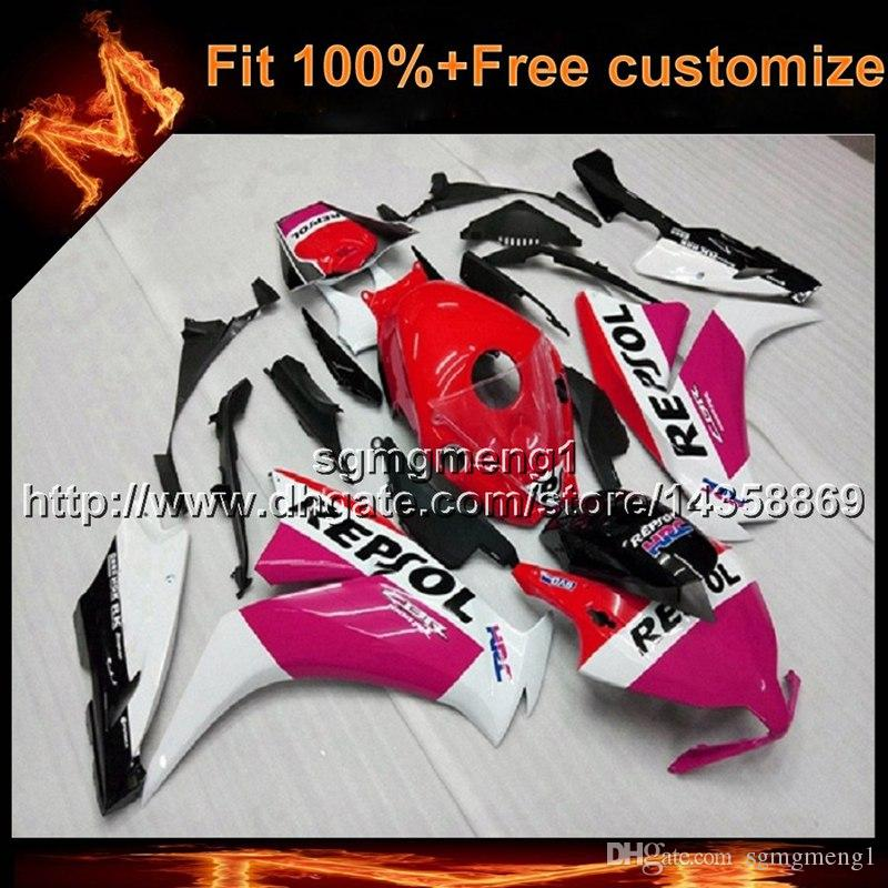 23colors+8Gifts Injection mold repsol motorcycle cowl for HONDA CBR1000RR 2012-2016 CBR1000RR 12-16 ABS Plastic Fairing