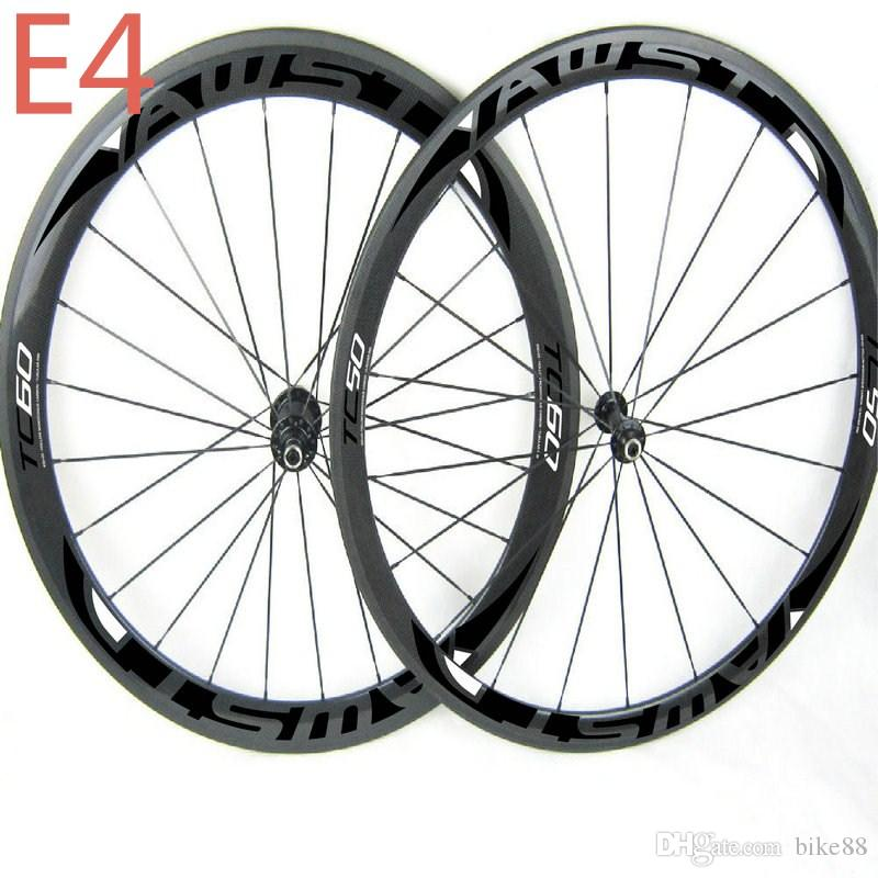 Hot Sale china carbon bike wheels front 50mm rear 60mm bicycle road wheelset clincher with powerway hubs carbon wheels road free shipping