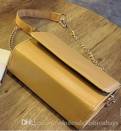 Alta calidad de las mujeres de moda europea a estrenar pu bolso de cuero bolso de hombro bolso monedero xz105