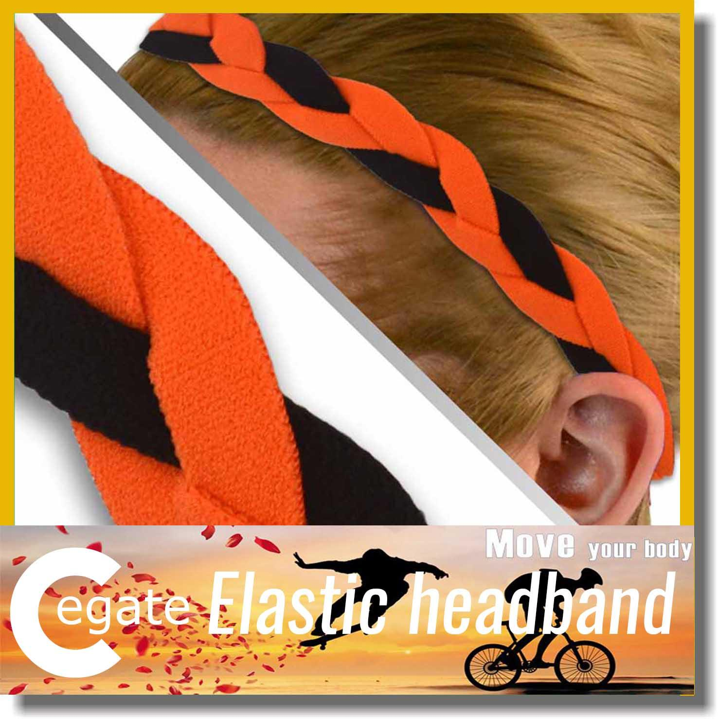 WHOLESALE 2016 Hot sale braided headbands sports headbands mini softball headband free shipping