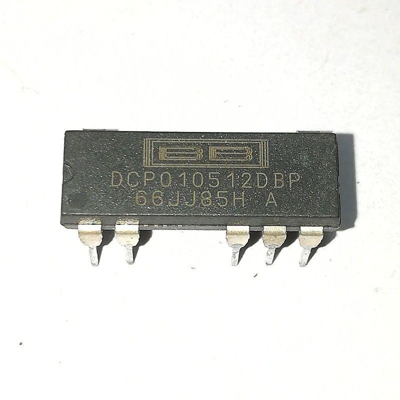 DCP010512DBP. DCP010512BP. Circuito integrato per pacchetto plastico DCP010512DP / DC-DC / 7 pins. BB Electronic Components Microelectronics