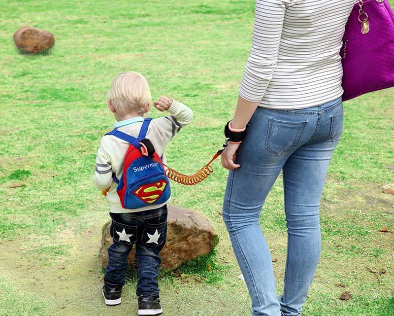 Ücretsiz kargo Çocuk çekiş halat çocuklarla çocukların kaybını önlemek için kaybetti çocuk kaybetmek bilek bileklik
