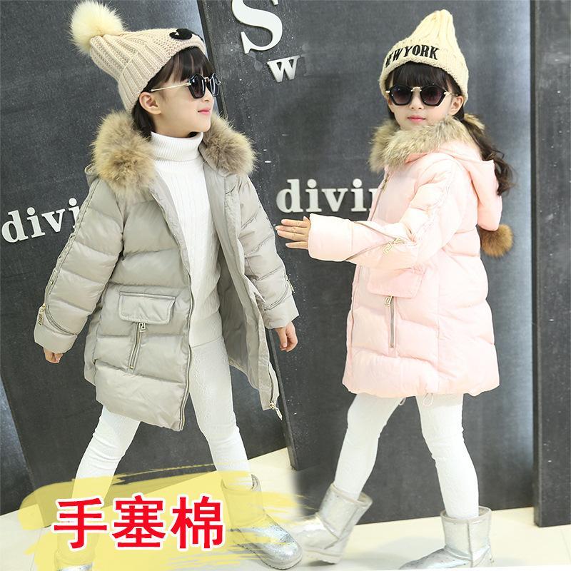 Cheap 5 6 7 8 9 10 11 12 13 Years Baby Girl Coat Winter Warm ...