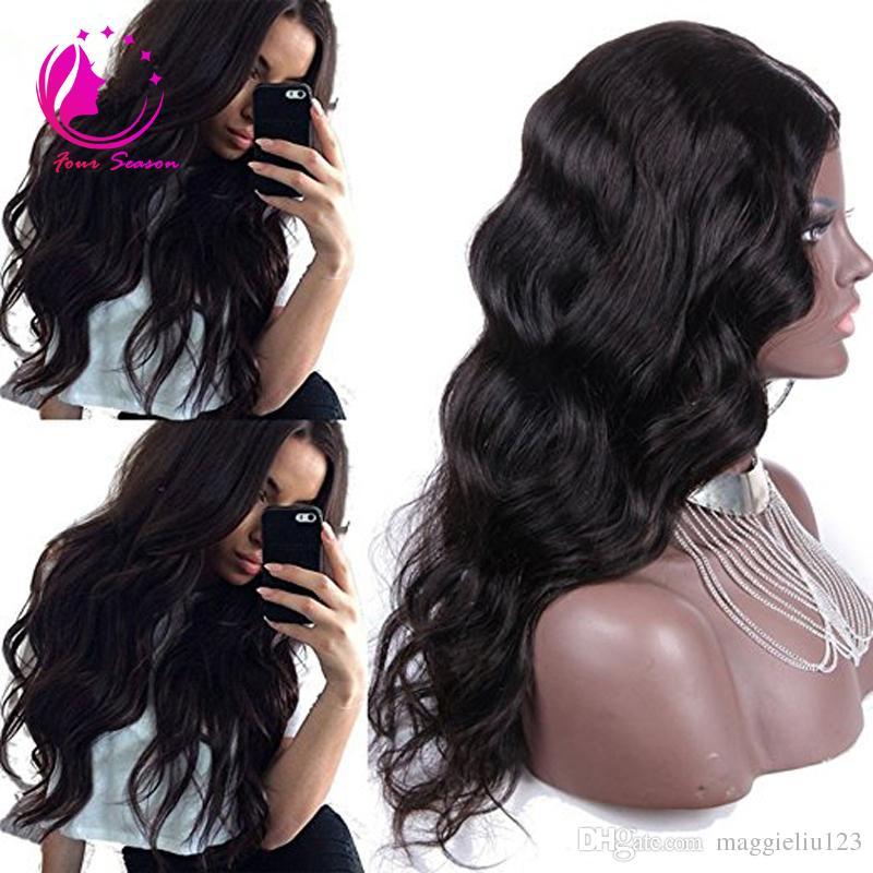 بيرو الجسم موجة u الجزء الإنسان باروكات الشعر الأوسط اليسار اليمين u الجزء العذراء باروكات الشعر للنساء السود اللون الطبيعي 12-26 بوصة