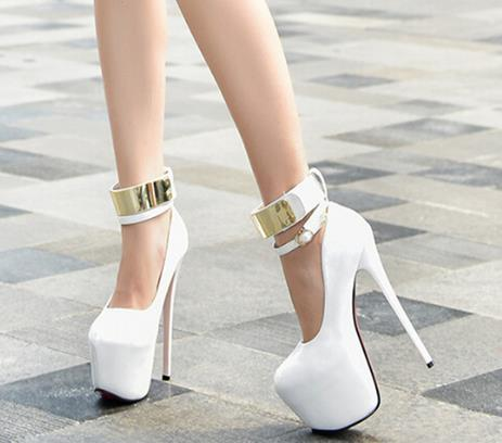 8c74ac951ca7 Red High Heels Shoes Woman Platform Heels Pumps Party Shoes for Women Pumps  Black White Wedding
