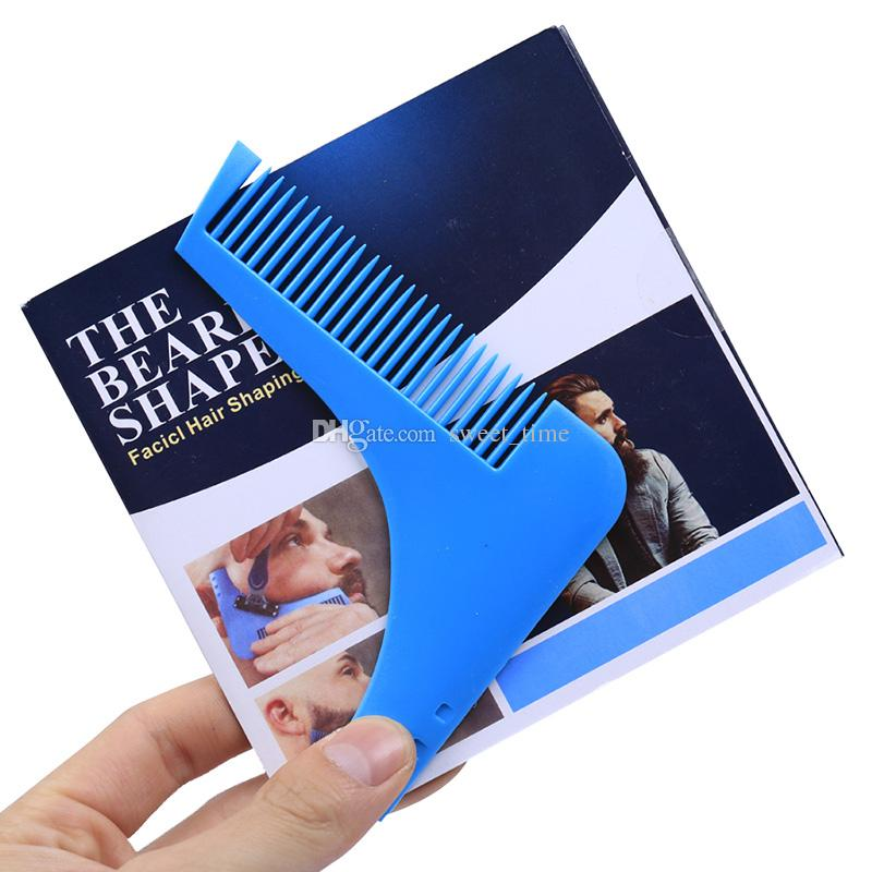 Beard Bro Beard Shaping Tool Hair Trimmer for Perfect Lines and Symmetry Pro Shaving Beard Modelling Tools Hair Cut Gentleman Modelling Comb