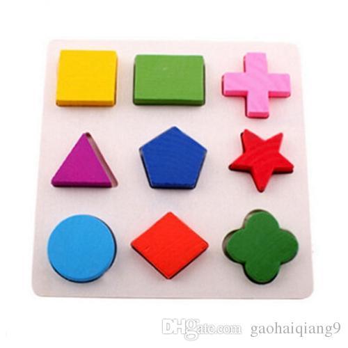 Stereo Holzpuzzles für Kinder 2-4 Jahre alt 3D Puzzle Brett pädagogische Spielzeug für Kinder lernen Spiele Spaß Brief