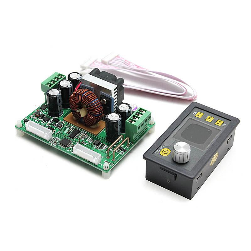Freeshipping New DPS3012 Constant Voltage current Step-down Programmable Power Supply module buck Voltage converter color LCD voltmeter