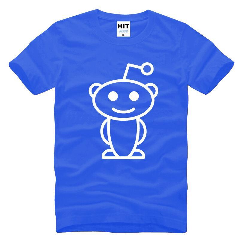 2017 New Pattern Pure Cotton Men's Short Sleeve T Pity Reddit Aliens Film Lovely Poloshirt Shirt Men Tshirts Fashions For Mens Tiger Shirts