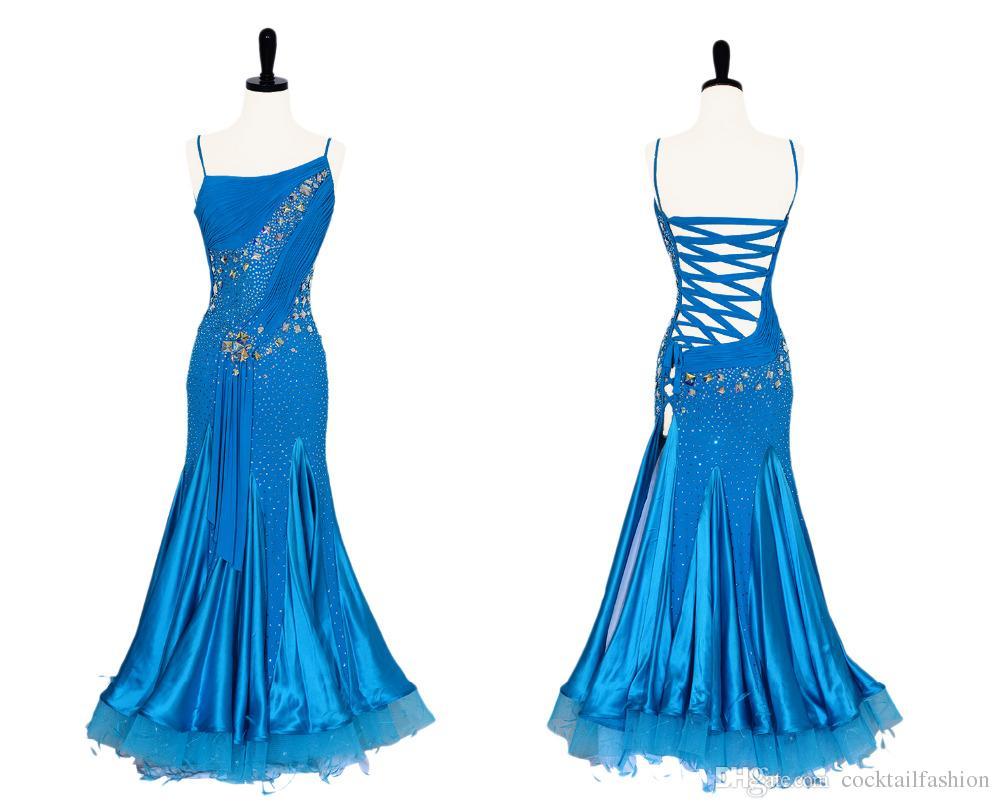 2018 Ballroom Standard Dress Custom Made Waltz Tango Ballroom ...