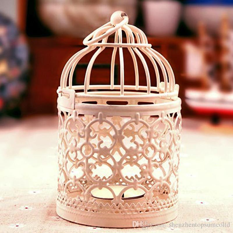 Decorativa Lanterna Marroquina Votiva Castiçal Pendurado Lanterna Do Vintage Castiçais Decoração de Casa
