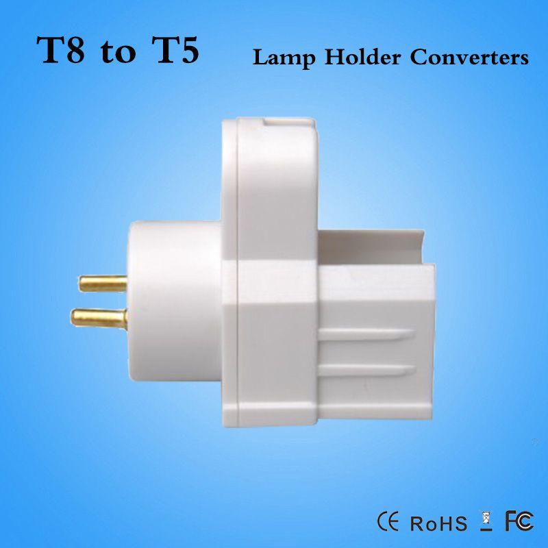 T8 Lamp Holder Fluorescent Light Socket Lamp Holder Adapter Light Replace